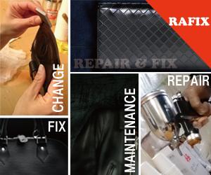 神戸市をはじめ兵庫県で革製品のリペア・修理を承ります。